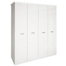 Шафа Прованс 4Д без дзеркал білий глянець Миро-Марк