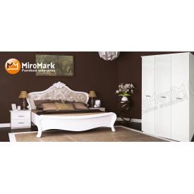 Спальня Прованс 3Д білий глянець Миро-Марк