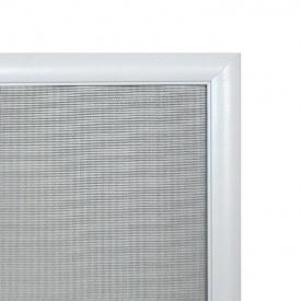 Москитная сетка элит алюминиевый профиль Белый