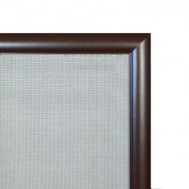 Москитная сетка элит алюминиевый профиль Коричневый