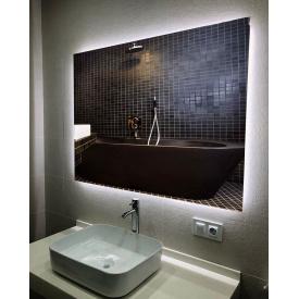 Зеркало с LED подсветкой ML - 08 80х50