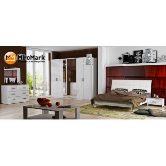 Спальня Рома 6Д білий глянець Миро-Марк