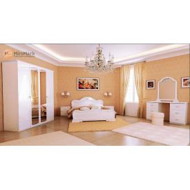 Спальня Футура 3Д білий глянець Миро-Марк