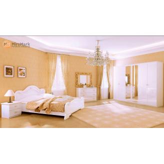 Спальня Футура 6Д білий глянець Миро-Марк