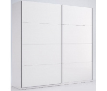Шкаф-купе Фемели 1,5 белый глянец без зеркала Миро-Марк