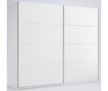 Шкаф-купе Фемели 2,5 белый глянец без зеркала Миро-Марк