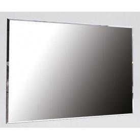 Зеркало Фемели 100х80 белый глянец Миро-Марк