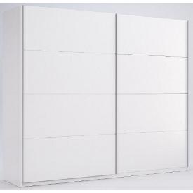 Шафа-купе Фемелі 2,5 білий глянець без дзеркала Миро-Марк