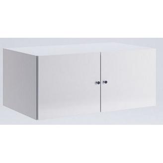 Антресоль Фемели 2Д белый глянец Миро-Марк
