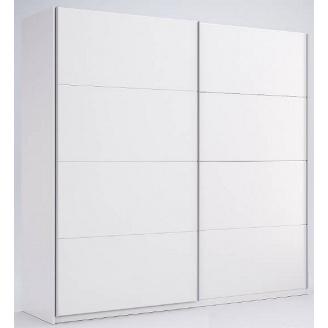 Шкаф-купе Фемели 2 белый глянец без зеркала Миро-Марк