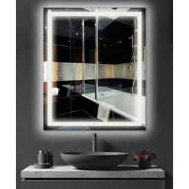 Зеркало с подсветкой LED в ванную ML - 13 50х100