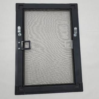 Москітна сітка на вікна антрацит під замовлення