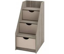 лестница-комод Савана Нью 3Ш дуб сонома Мир мебели