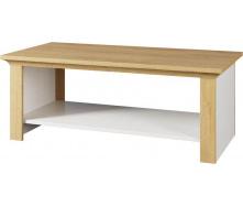 Стол журнальный Валерио сосна водевиль + дуб каменный Мир мебели