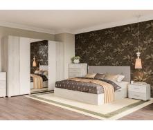 Спальня Ромбо 6Д аляска білий Світ меблів
