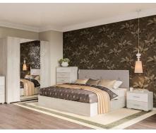 Спальня Ромбо 4Д аляска + білий Світ меблів