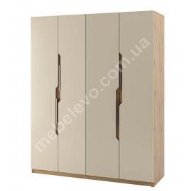Шкаф Смарт 4Д дуб артизан + крем Мир мебели