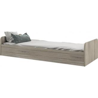 кровать односпальная Савана Нью 80х190 дуб сонома Мир мебели