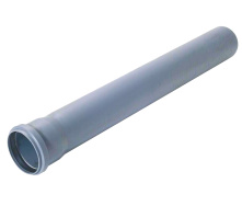 Труба каналізаційна 50/2000 мм 3-х шарова