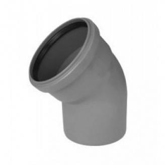 Коліно каналізаційне 50/30 мм