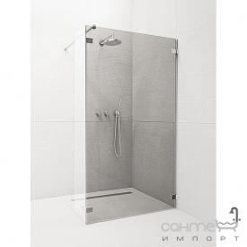 Фронтальна частина душової кабіни Radaway Euphoria Walk-in II W3 80 383130-01-01 (хром / прозоре)