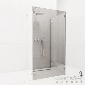 Фронтальна частина душової кабіни Radaway Euphoria Walk-in IV W4 80 383140-01-01 (хром / прозоре)