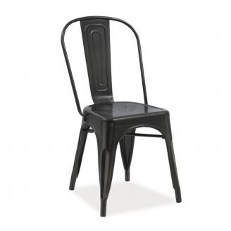 Металлический стул Толикс 840х450х350 черный матовый