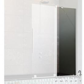 Неподвижная часть шторки на ванну Radaway Furo PND II 10112544-01-01 хром/прозрачное стекло