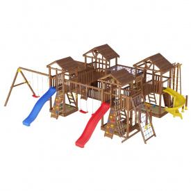 Деревянный детская площадка WOODEN TOWN №18 11,35 М * 10,2 м * 3,5 М