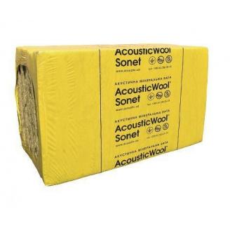 Акустична мінеральна вата AcousticWool Sonet 50х1000х600 мм
