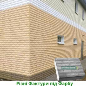 Термопанель КРИВБАССФАСАД Рваный Кирпич 100 мм