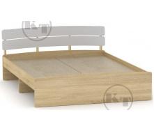 Ліжко Модерн 160 дуб Сонома комбі Компаніт