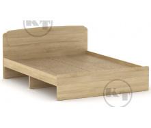Ліжко Класика 160 дуб Сонома Компаніт