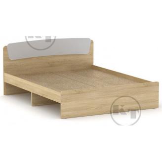 Ліжко Класика 160 дуб Сонома комбі Компаніт