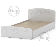 Ліжко Ніжність -90 МДФ німфея альба Компаніт