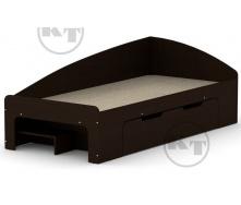 Ліжко -90 + 1 венге Компаніт