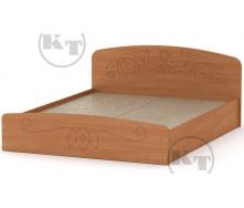 Ліжко Ніжність -140 МДФ вільха Компаніт