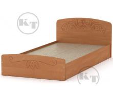 Ліжко Ніжність -90 МДФ вільха Компаніт