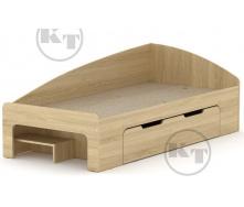Ліжко -90 + 1 дуб Сонома Компаніт