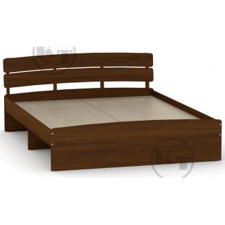 Ліжко Модерн 140 горіх Компаніт
