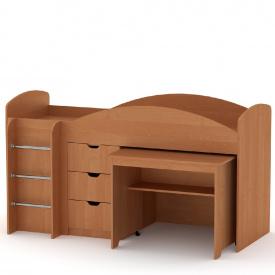 Кровать KOMPANIT Универсал 70 см х 190 см Ольха.
