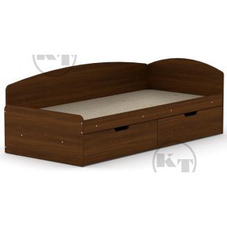 Ліжко -90 + 2С горіх Компаніт