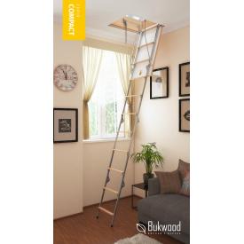 Чердачная лестница Bukwood Compact Metal Mini 80х60 см