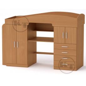 Кровать-чердак Универсал-2 190х70 бук Компанит
