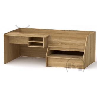 Ліжко Універсал-3 190х70 дуб Сонома Компаніт