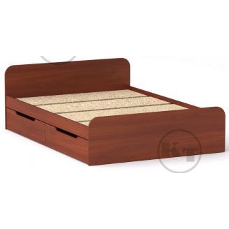Ліжко з ящиками Віола 140х200 яблуня Компаніт