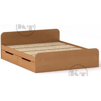 Ліжко з ящиками Віола 160х200 бук Компаніт