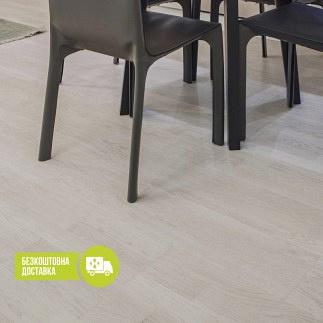 Паркетна дошка ESTA PARKET дуб Promo Bianco Perla 3-смугова