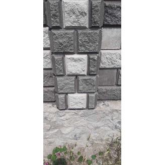 Блок колотий половинка 190х190х90 мм