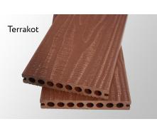 Террасная доска Woodlux Ultra Vintage Terrakot 23мм